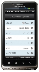 GemFind's New Diamond Link iPhone and Android App Lets Jewelry Professionals Showcase Thousands of Diamonds on a Mobile Platform