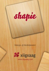 Xiigxaag Launches Shapie, a New Game for the iPhone and iPad