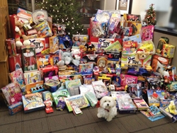 TFI Envision, Inc. Collects 50% More Toys Than Last Year for the Annual St. Luke's LifeWorks Holiday Gift Collection