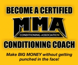 Mixed Martial Arts Conditioning Association Certification Now Approved for NESTA Credits for Personal Training