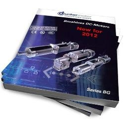 Dunkermotor Releases New Brushless DC and Intelligent Servo Motor Catalog