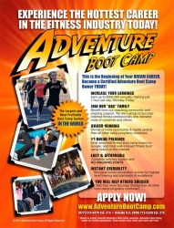 The Popular Adventure Boot Camp Fitness Business System is Expanding to More Markets in 2012