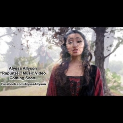 17 Year-Old Alyssa Allyson from Orange County Debuts Rapunzel