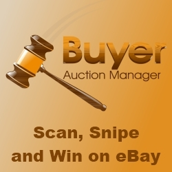 Buyer Auction Manager (Full) - eBay Software for Buyers Has Been Released