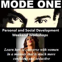 """""""Mode One"""" Author to Sponsor Personal Development Workshops for Single Men"""