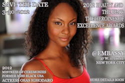 """Jon Quick Select Presents """"Beauty and the Beat Vol 3: Heroines of Excellence Awards"""""""