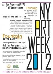 Art for Progress Announces Artists to be Shown at Fountain Art Fair