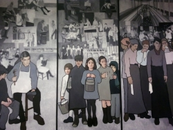 An Exhibit of The History of Maine Labor Mural