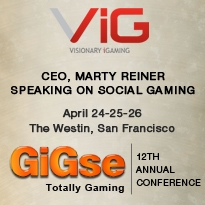 Visionary iGaming CEO to Speak on Social Gaming at GiGse 2012