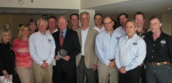 Hank Daughtry Awarded for Leading by Example by Texas Self Storage Association