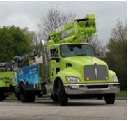 Milwaukee County Event Officially Welcomed Four Work Trucks Powered by Odyne Plug-In Hybrid Systems Into Their Fleet