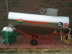 Suffolk Salvation Army Corps is Making Environmental History in Virginia by Launching an A500 Rocket® Model Food Composter, the First One in the State