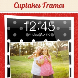 Cuptakes Today Announces the Launch of Cuptakes Frames, a Brand New Member to the App Family for Your iPhone and iPod Touch