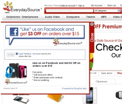 EverydaySource.com Hits the Bull's Eye on Social Commerce with ShopSocially