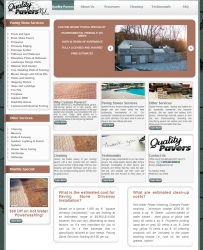 Quality Pavers, Pine Brook New Jersey, Named Top Paving Company for Outstanding Work with the Help of New Web Design