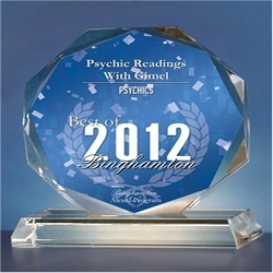Psychic Readings with Gimel - Free Psychic Network Receives 2012 Best of Binghamton Award