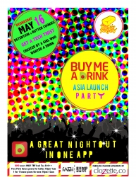 Buy Me a Drink App to Launch in Asia on May 16 at the Butter Factory