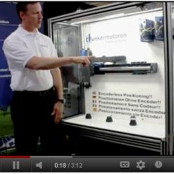 New ServoTube Linear Motor Demonstration Added to Dunkermotor Website