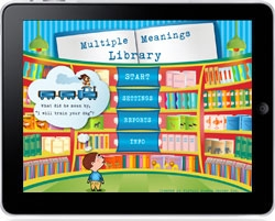 Virtual Speech Center Releases a Multiple Meanings iPad App for Speech Language Pathologists