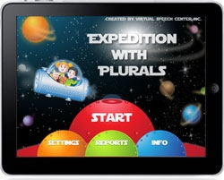 Virtual Speech Center Releases an iPad App to Practice Plurals