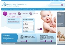 Launch of Major Online Guide for Those Facing Infertility: Fertility Treatment Abroad