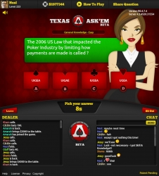 Irish Games Company Launches Texas Ask'Em Poker