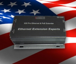 Ethernet Extension Experts' New 820 Pro Extends Ethernet and PoE up to 900 ft. for Only $249 (MSRP)