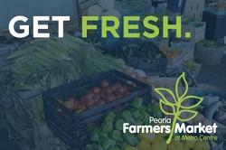 Peoria Farmers Market at Metro Centre Celebrates 35 Years, Peoria's Original Farmers Market Reopens This Saturday