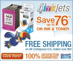 MyReviewsNow.net Affiliate Partner 4InkJets Launches Sale on Printer Cartridges and More Until July 3