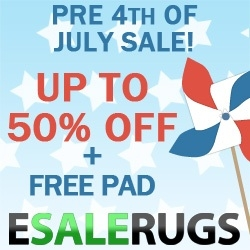 MyReviewsNow.net Affiliate Partner Esalerugs Launches Pre 4th of July Sale on Area Rugs