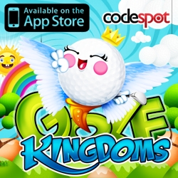 Codespot MobileLlaunches Golf Kingdoms on iTunes App Store