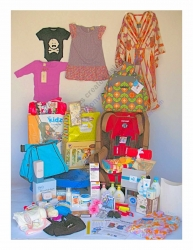 Backstage Bag Gifts Kourtney Kardashian and Other A-List Celebrity Parents Baby Baskets