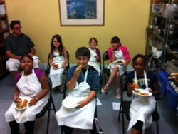 CoachArt Receives Culinary Camp Scholarships from Chef Eric's Culinary Classroom