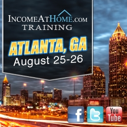 Major Income at Home Event August 25 & 26 2012 in Atlanta, Georgia