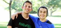 Young Celebs Team Up for Charity Soccer at Chance to Play 2012