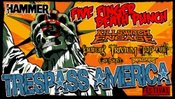 Revolver Electronic Cigarettes Teams Up with Five Finger Death Punch at the Trespass America Festival Tour