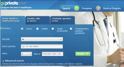 Intuition Launches GoPrivate.com - Compare Private Doctors and Clinics on Service, Cost and Qualifications