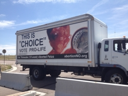 Anti-Abortion Group Targets the Streets of Colorado Springs with Display of Large, Bloody Photos of Aborted Babies