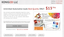 New Automotive Lead Service Uses SMS Technology for Unmatched Quality
