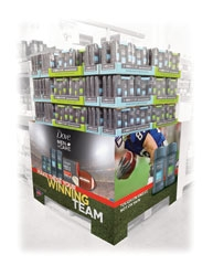 TFI Envision, Inc. Creates Football Pallet for BJ's