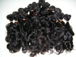 100% Virgin Remy Hair from the Temples of India Presented by Luxe Hair Exotics