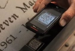 Interactive Headstones with Tech Appeal
