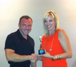 ShopForAHome.com's Darian Woolbright Wins Best Use of New Technology Genny Award from the OKC Metropolitan Association of REALTORS