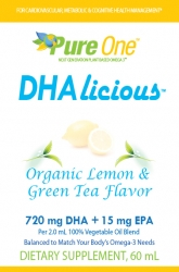PURE ONE® DHAlicious™ Puts Innovation First: Launches New Omega-3 Chromista Oil Product