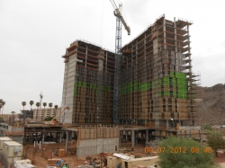 Hub On Campus, Tempe's Newest Student Living High-Rise, Tops Off This Week