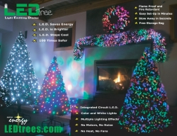 Save Green by Going Green with LEDtrees.com Pre Lit Christmas Trees