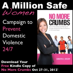 Atlanta Indie Author Giving Away a Million Copies of Book, No More Crumbs in Campaign, to Prevent Domestic Violence