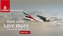 Online Holiday Travel Mall MyReviewsNow.net Announces Emirates Airlines Travel Sale