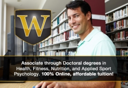 Wexford University Accepting Final Registration for 2013 Fitness, Health and Sports Psychology Classes Online