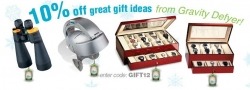 Holiday Gift Mega Mall MyReviewsNow.net Promotes Gift Ideas with Additional Discount from Affiliate Gravity Defyer
